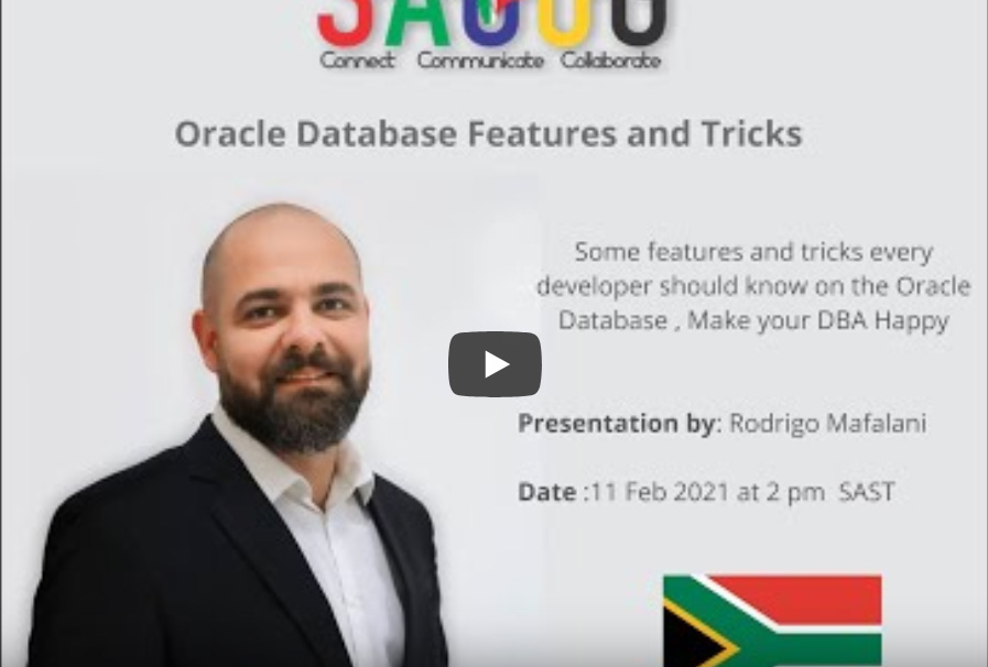 Features and tricks every developer should know on the Oracle Database & Make your DBA Happy