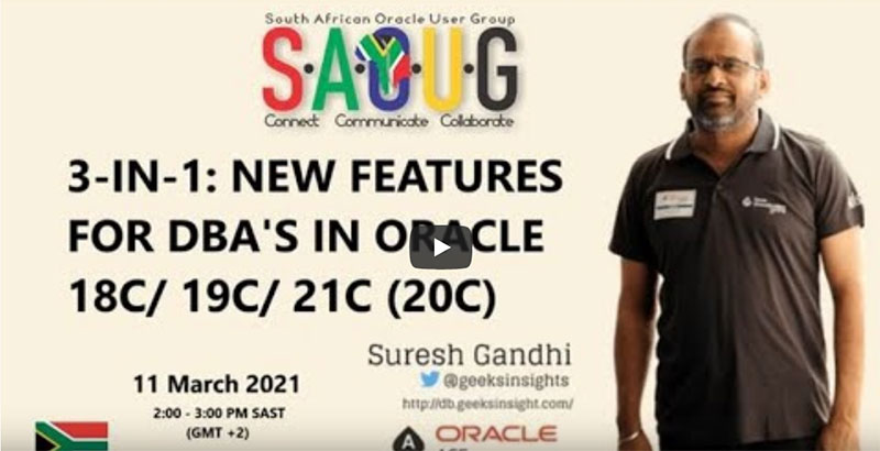 3-in-1: New Features for DBA's in Oracle 18c/19c/21c(20c)